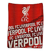 Liverpool FC Impact Fleece Blanket
