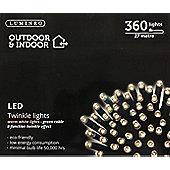 360 Multi Function LED Christmas Lights - Warm White