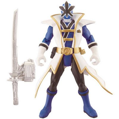 Power Rangers Super Samurai Action Figure - Blue Super Samurai