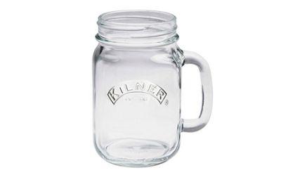 Kilner Handled Drinking Jar 400ml (Clear)