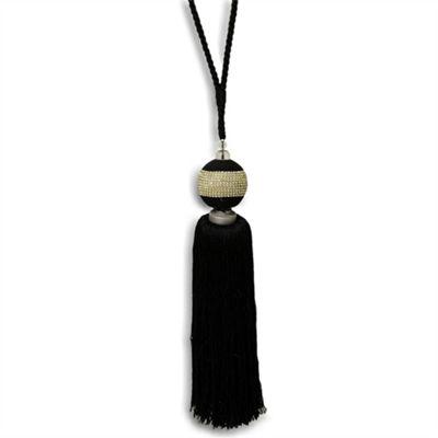 Riva Home Jewel Tie Back - Black