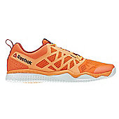 Reebok ZPRINT TRAIN Mens Training Shoes - Red/Peach - Orange