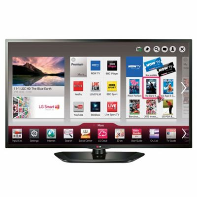 LG 42LN570V 42 Inch Smart WiFi Ready Full HD 1080p LED TV With Freeview HD