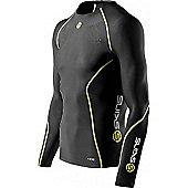 Skins A200 Long Sleeve Top - Black