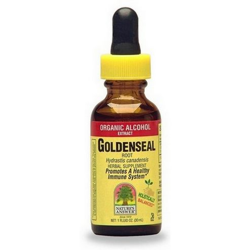 Natures Answer Golden Seal Root - Standardised - Low Alcohol 30ml Liquid