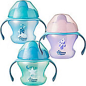 Tommee Tippee Weaning Baby Sippee Cup 4m+│BPA Free│Easy Grip│Non Spill Valve│New