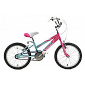 "Ammaco Misty Girls Bmx Bike 16"" Wheel Pink/Baby Blue"