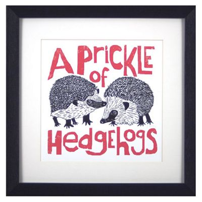 Buy Animal Friends Framed Print - Hedgehogs from our All Frames ...