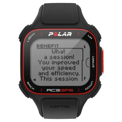 Polar RC3 GPS Sports Watch, Black