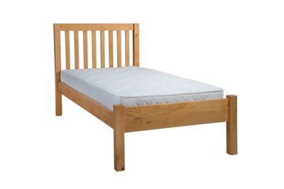Silentnight Hayes Single Bed Frame, Natural