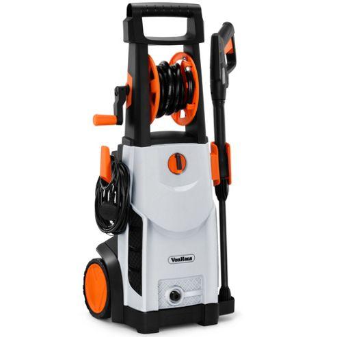 VonHaus 2200W Pressure Washer With Accessories – Outdoor Home/Patio & Car Cleaner