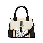 F&F Colour Block Mini Tote Bag