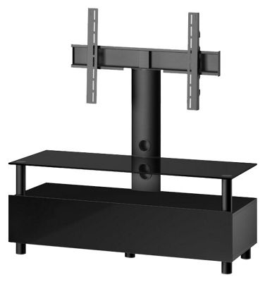 Sonorous Troy TV Cabinet in Black for up to 60 inch TVs
