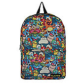Pokemon Characters All Over Print Backpack 31x41x12cm
