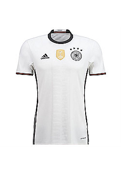 adidas Germany DFB Football Home Euro Jersey 2016 - White