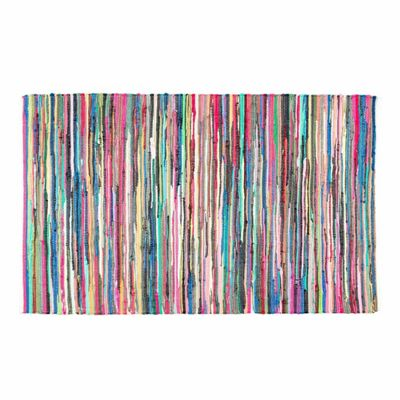 Homescapes Recycled Cotton Chindi Rug, 120 x 180 cm