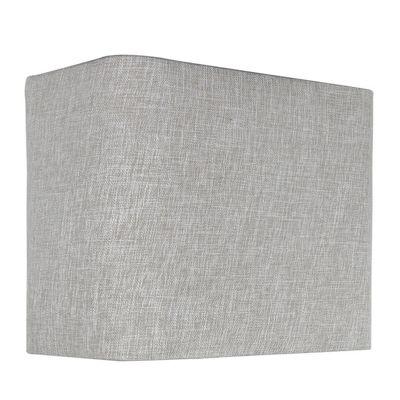 Oatmeal Linen 12 Inch Rectangular Shade (Dual Fitt)