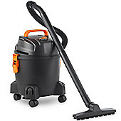 VonHaus 15L Wet & Dry Vacuum With Blowing Function, Lightweight For Indoor Use