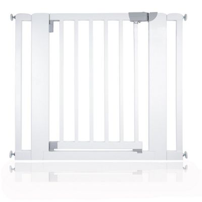 Safetots Chunky Wooden Pressure Fit Stair Gate White 89cm-97cm