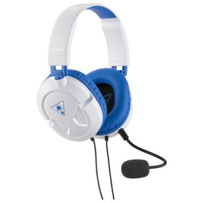 Turtle Beach Recon 60p White Amplified PS4 Gaming Headset