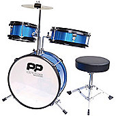PP Blue Junior 3 Piece Drum Kit
