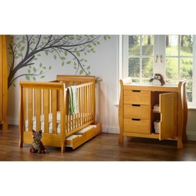 OBaby Stamford Mini 2 Piece Room Set (Country Pine)