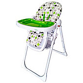 Bebe Style HiLo Burst Multi Function Recline Highchair - Green