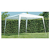 Large Garden Gazebo With Canopy - 3x3m - White