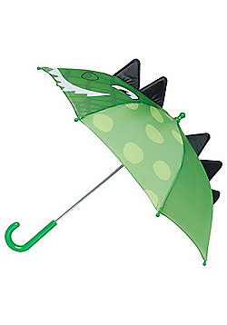 Totes Lizard Face Kids Umbrella - Green