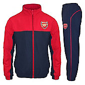 Arsenal FC Boys Tracksuit - Red