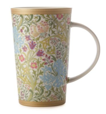 MW WM Golden Lily White Conical Mug 420ML GB