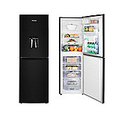 Hisense RB320D4WB1 Upright Freestanding Fridge Freezer With Water Dispenser - Black