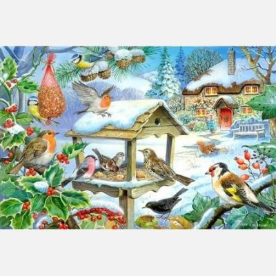 Feed The Birds - Extra Large Puzzle