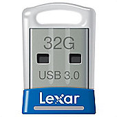 Lexar JumpDrive S45 32GB USB 3.0 Blue Silver flash drive