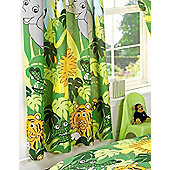 Jungle Curtains 72s - Lined
