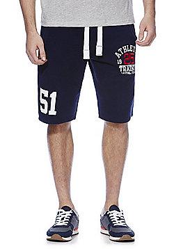 F&F Collegiate Jersey Shorts - Navy