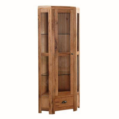 Oakridge High Corner Display Cabinet