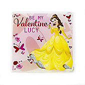 Beauty and the Beast Personalised Couples Coaster (Single)