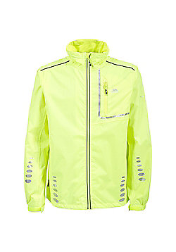 Trespass Mens Axle Bike Jacket - Yellow
