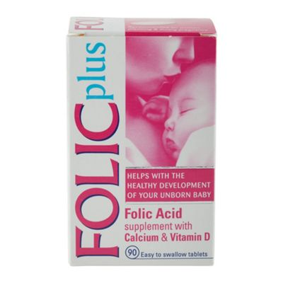 Folic Plus - Folic Acid Tablets 400mcg