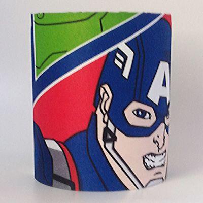 Marvel Avengers Medium Fabric Light Shade - Captain America / Iron Man