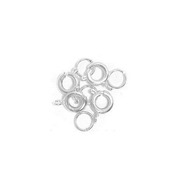 Craft Factory Bolt and Spring 4pk Silver Plated