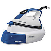 Morphy Richards 333007 Compact Steam Generator Iron with IntelliTemp - White & Blue