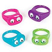 Wiggle Eye Rings (Pack of 12)