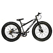 "2015 Coyote Fatman Fat Bike 26"" x 4"" with Disc Brakes Black"