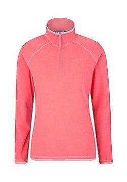Mountain Warehouse Montana Womens Microfleece - Pink