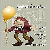 Holy Mackerel Birthday wishes Greetings Card