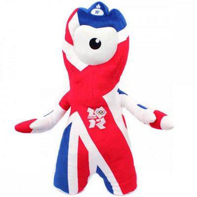 London 2012 Union Jack Wenlock 45cm Soft Toy