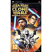 Star Wars - The Clone Wars - Republic Heroes - PSP