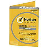 Norton Security 1 USER 10 DEVICE 3.0 (Premium)
